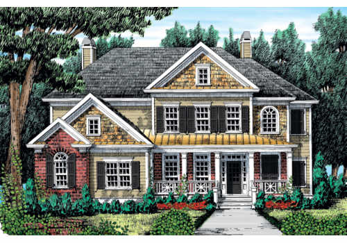 Port Royal House Plan Elevation