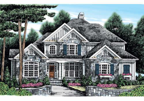 Prescott Ridge House Plan Elevation