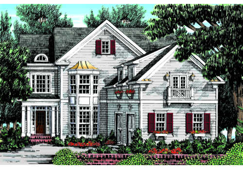 Vanderlyn House Plan
