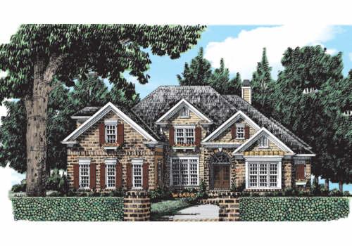 Brookmere House Plan Elevation