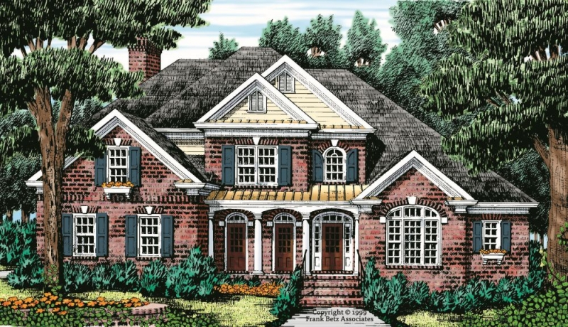 Greyhawk House Plan Elevation
