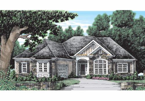 Ivy Spring Cottage House Plan Elevation