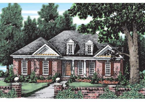 Regent House Plan Elevation