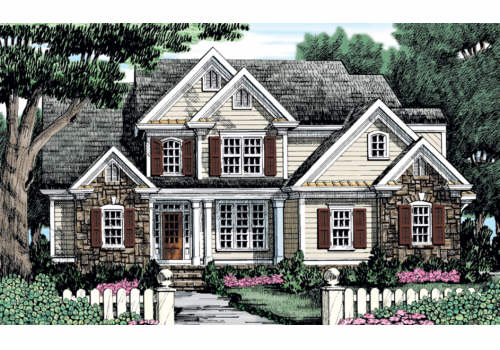 Willow Creek House Plan Elevation