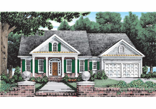 Troville House Plan