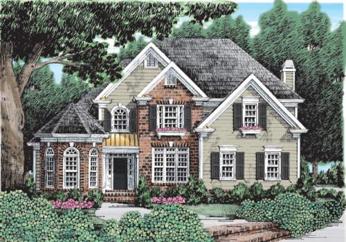 Ambrose House Plan Elevation