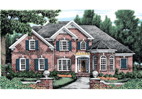 Greenlaw House Plan Elevation