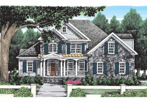 Hazeltine House Plan Elevation