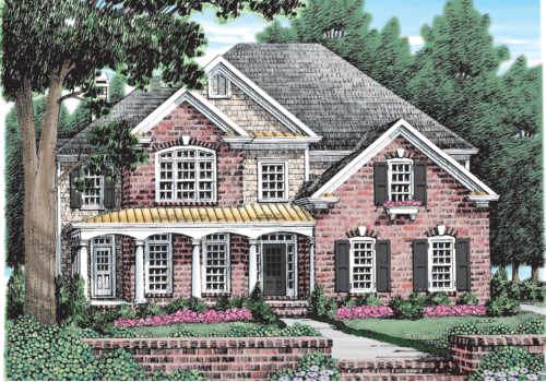 Ballard House Plan Elevation