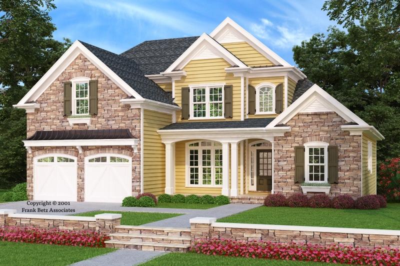 Stonechase House Plan Elevation