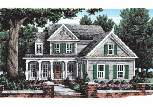 Rivermeade House Plan Elevation