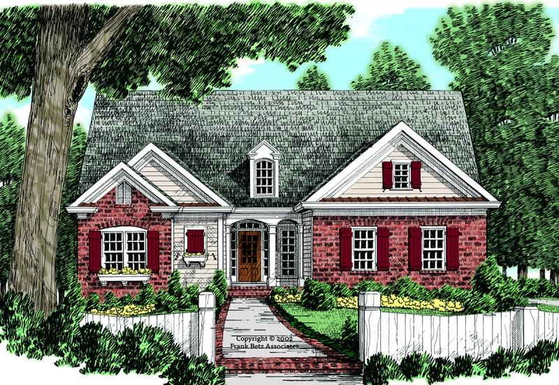 Timberlake House Plan Elevation