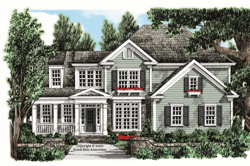 Sweetwater House Plan Elevation