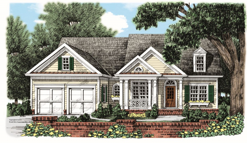Roswell House Plan