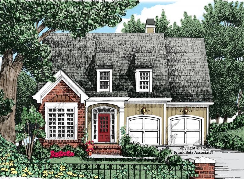 Broward House Plan Elevation