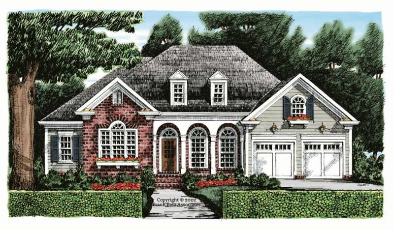 Delaney House Plan Elevation