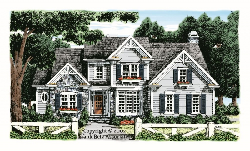 Keeneland House Plan Elevation