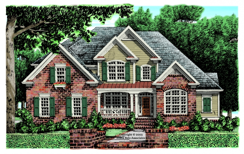 Candler Park House Plan Elevation