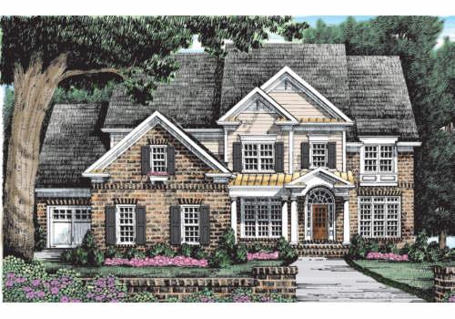 Longleaf House Plan Elevation