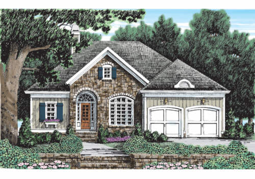 Briarcliff Cottage House Plan