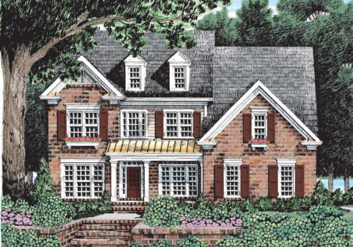 Neyland House Plan Elevation