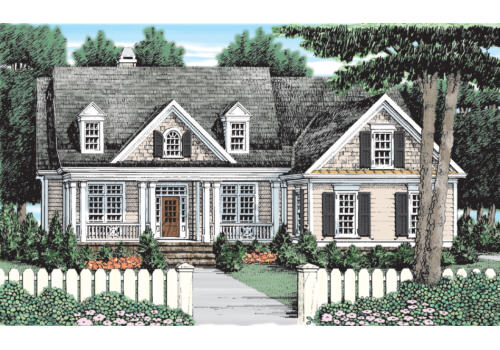 Lincoln Park House Plan Elevation