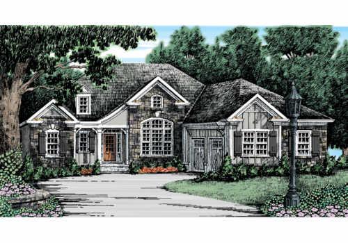 Evansbrook House Plan