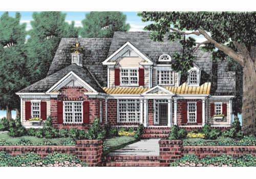 Forrest Hills House Plan Elevation