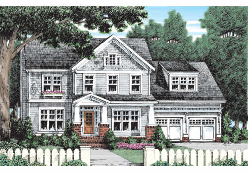 Modesto House Plan Elevation