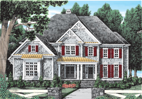 Copper Ridge House Plan