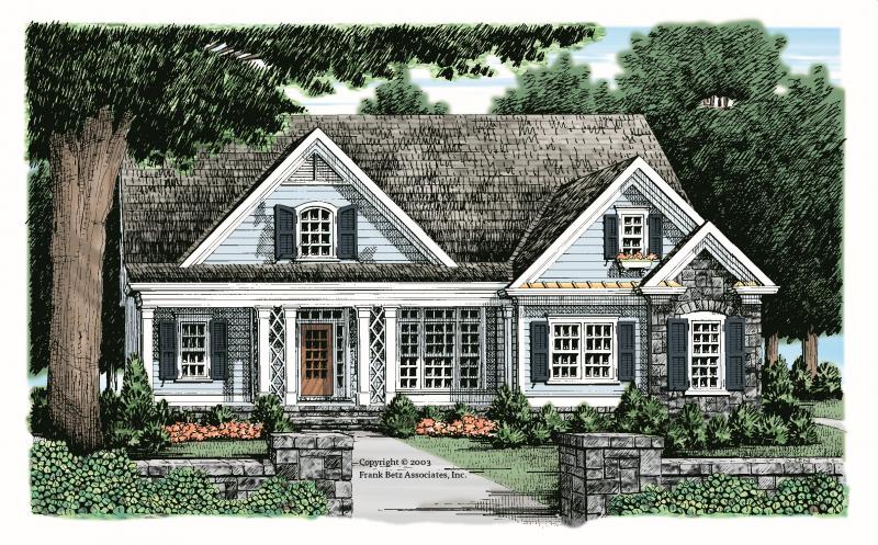 Amelia House Plan Elevation