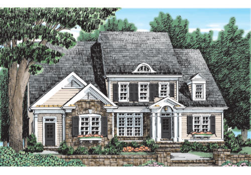 Durham Park House Plan Elevation