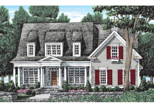 Stewarts Landing House Plan Elevation