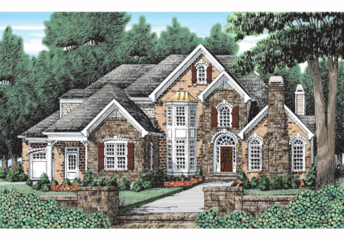 Hazelwood Ridge House Plan Elevation