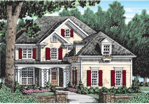 Faucett House Plan Elevation