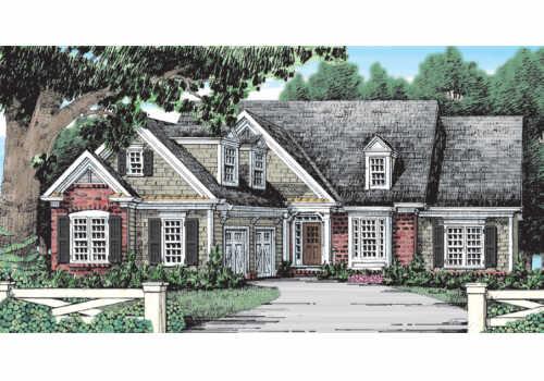 Brickell House Plan