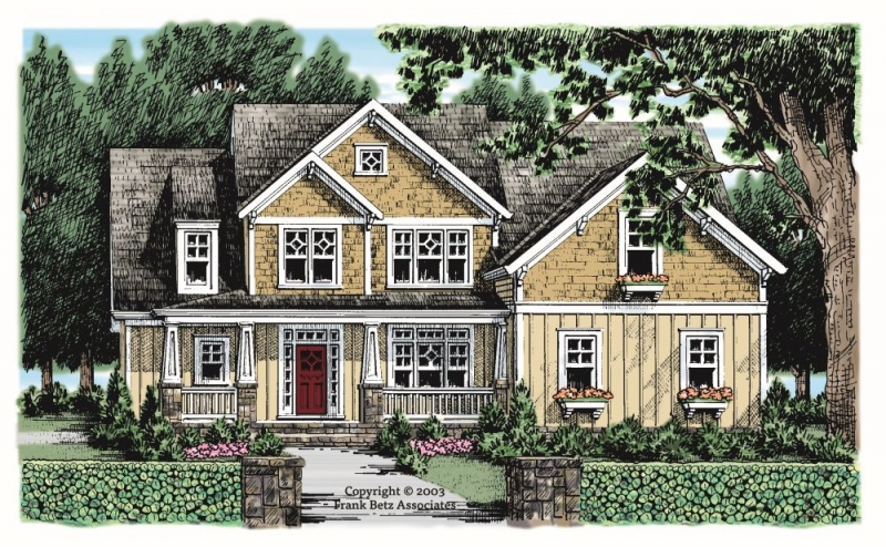 Holly Springs House Plan Elevation