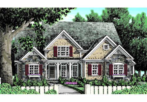 Catawba Ridge House Plan Elevation