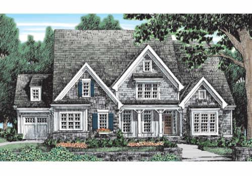 Hartford Springs House Plan Elevation