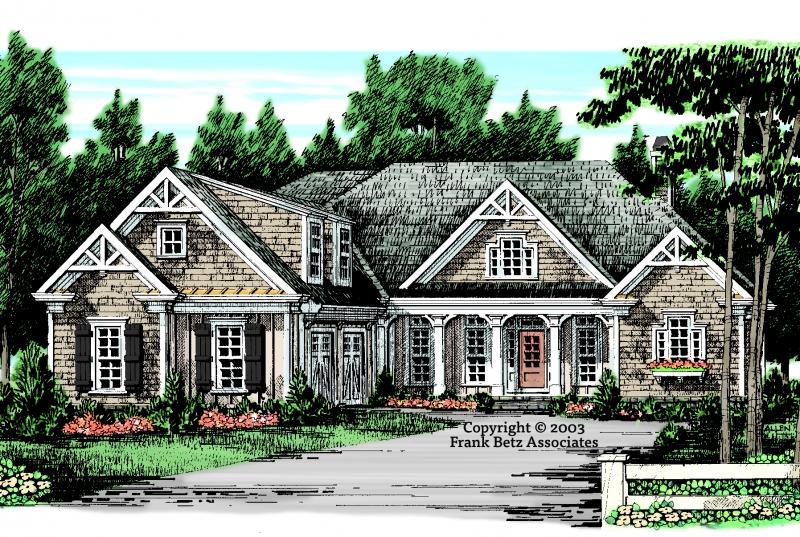 Camden Lake House Plan Elevation