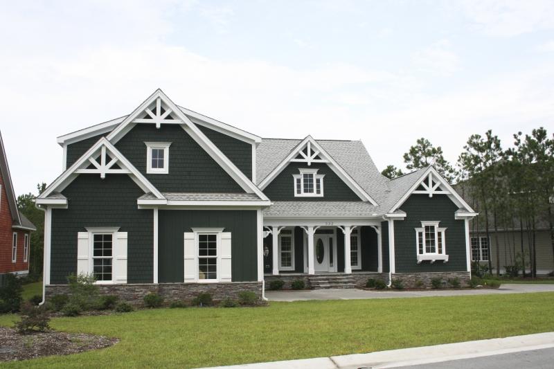 Camden Lake House Plan Photo