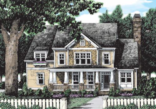 Mulholland House Plan