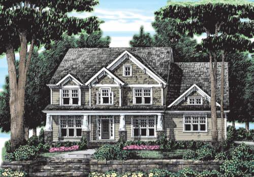Santa Clara House Plan Elevation