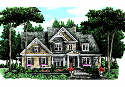 Graves Spring House Plan Elevation