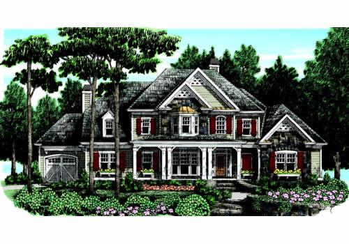 Keheley Ridge House Plan Elevation