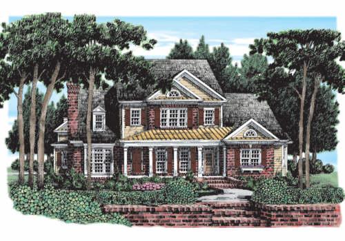 Northfield House Plan Elevation
