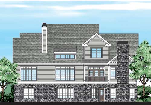 Collins Hill House Plan