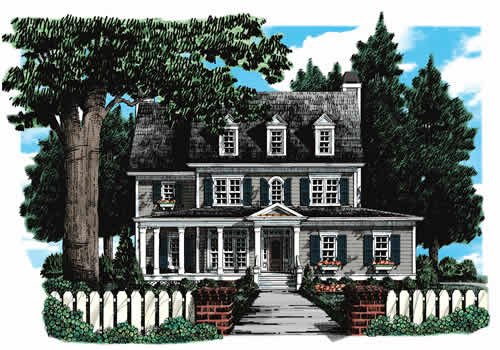 Morgans Landing House Plan