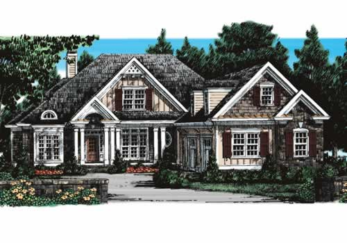 Stoney River House Plan Elevation