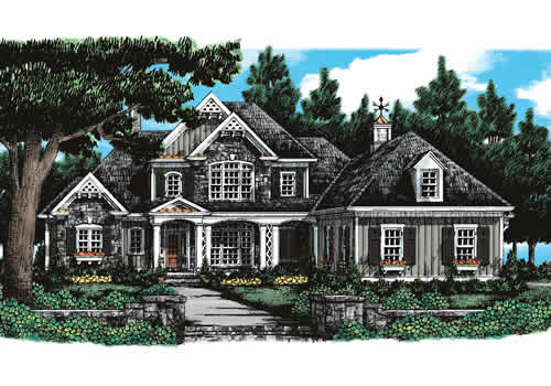 Chapel Hill House Plan